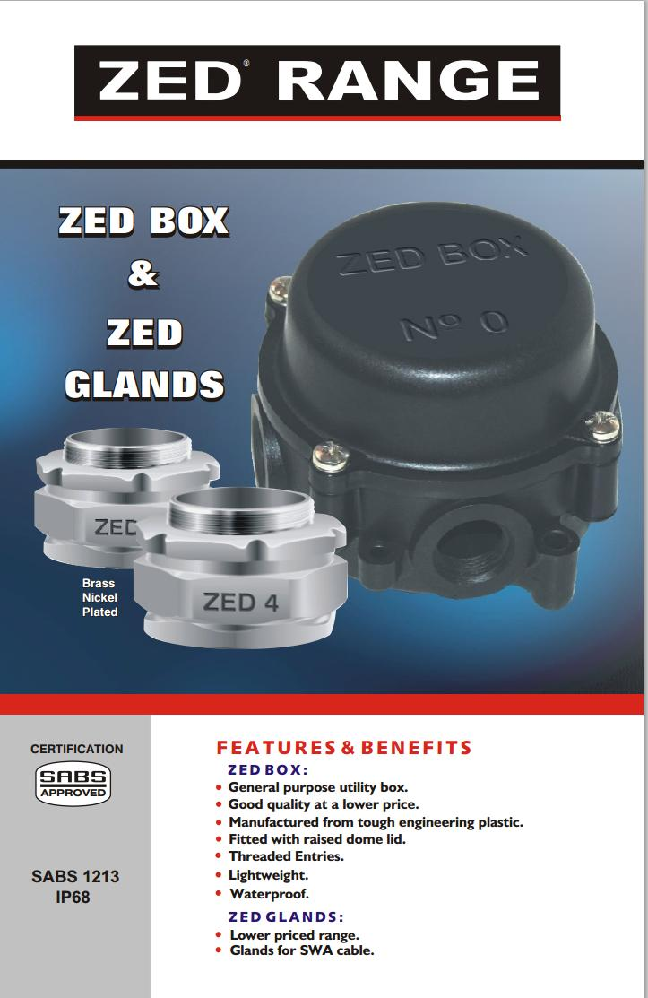 12 Zed Junction Box And Cable Gland