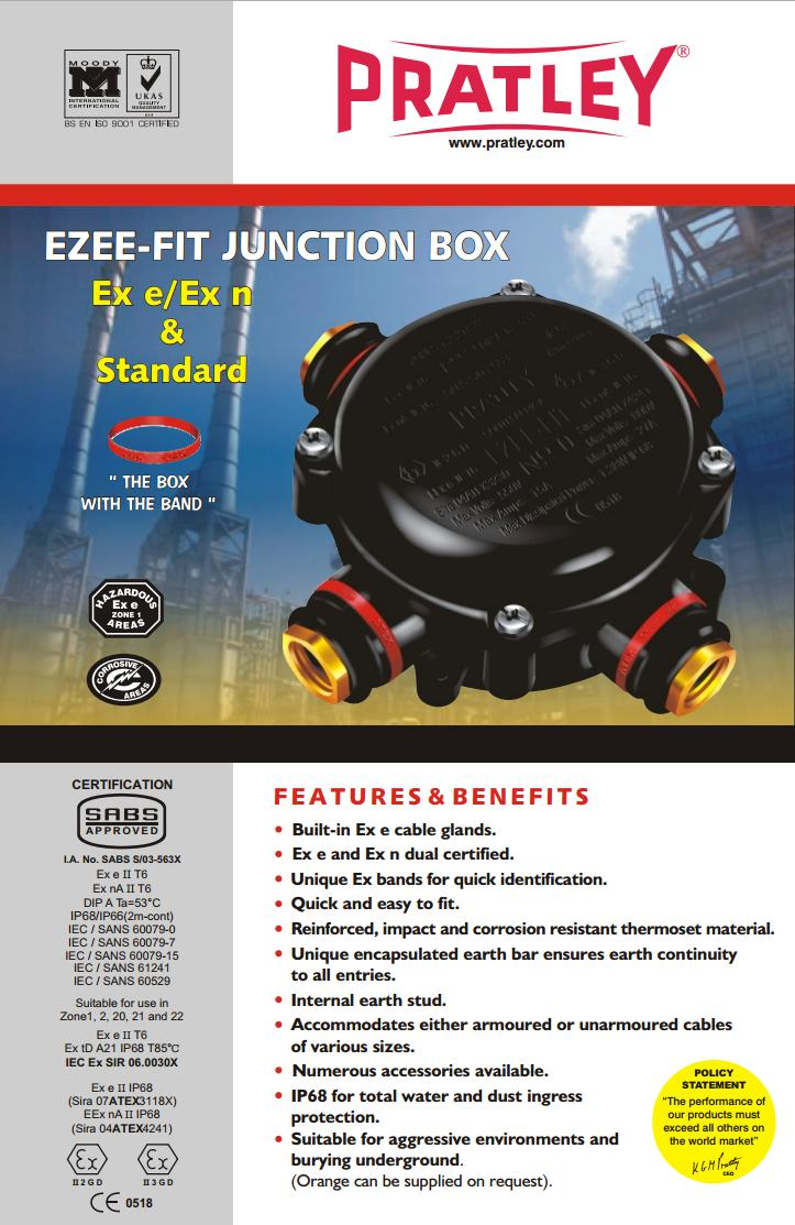 13 Ezee-fit Junction Boxes